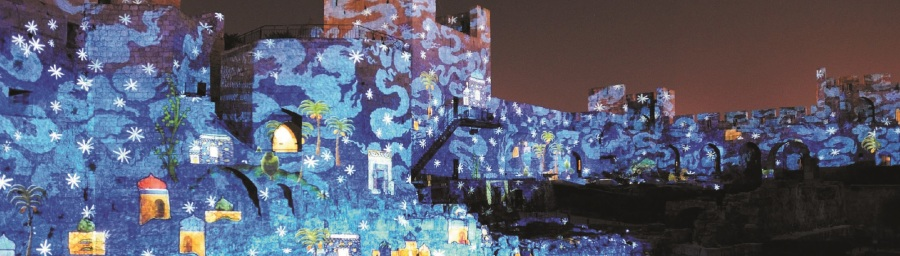 Jerusalem_-_Night_Spectacular_auf_Davidsturm_01